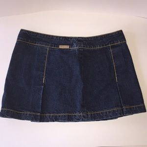 Tommy Jeans junior Pleated mini skirt size5
